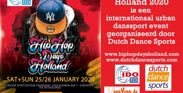 Folder voor Hiphopdaysholland